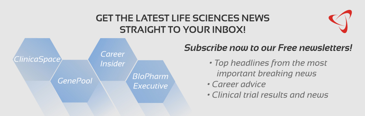 Click here to get the latest life sciences news straight to your inbox. Subscribe now to our FREE newsletters