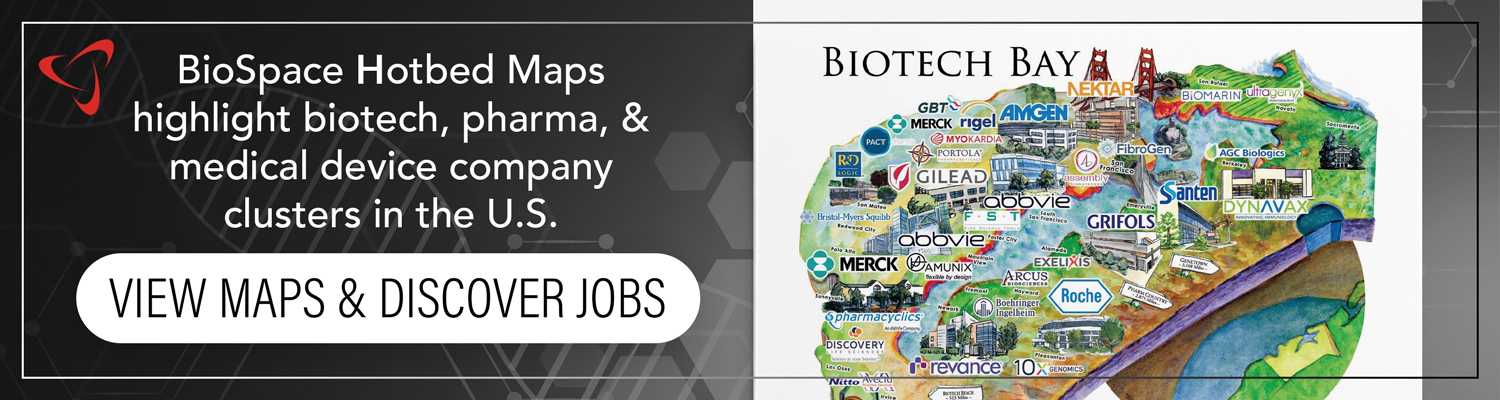 Click to view our 2019 hotbed maps of biotech, pharma and medical device company clusters in the USA