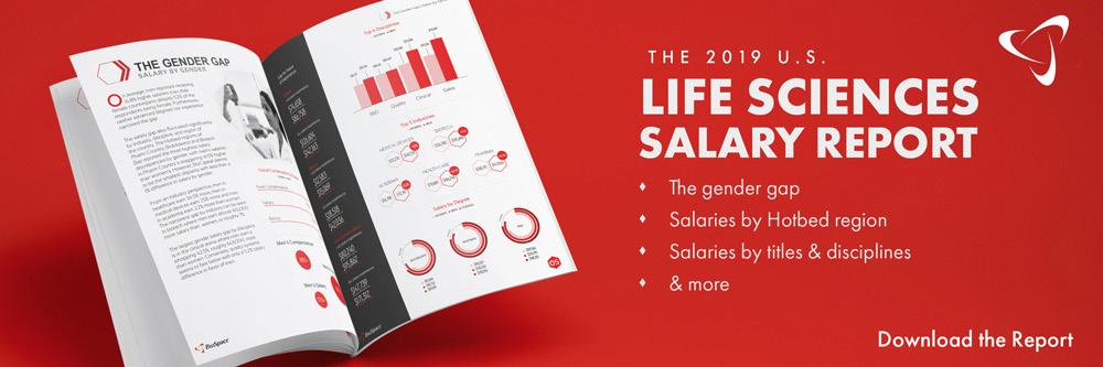Click to download the U.S. 2019 Life Sciences Salary Report.